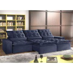 Sofa-Retratil-e-Reclinavel-7-Lugares-Azul-em-Veludo-410m-Lucan-1