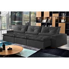 Sofa-Retratil-e-Reclinavel-7-Lugares-Preto-em-Suede-410m-Galahad-1