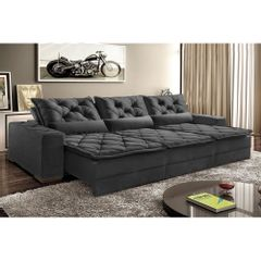 Sofa-Retratil-e-Reclinavel-7-Lugares-Preto-em-Suede-410m-Lancelot-1