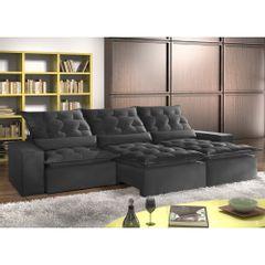 Sofa-Retratil-e-Reclinavel-7-Lugares-Preto-em-Suede-410m-Lucan-1