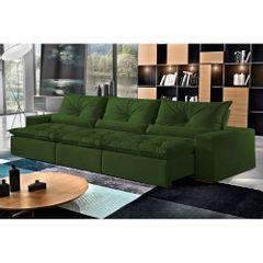 Sofa-Retratil-e-Reclinavel-7-Lugares-Verde-em-Veludo-410m-Galahad-1