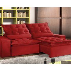 Sofa-Retratil-e-Reclinavel-5-Lugares-Vermelho-em-Veludo-290m-Lucan-1