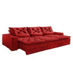 Sofa-Retratil-e-Reclinavel-6-Lugares-Vermelho-em-Veludo-350m-Lancelot-1