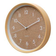 Relogio-de-Parede-Quartz-30cm-Bege-Cork-Style-1