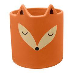 Cachepot-Decorativo-108cm-Laranja-de-Ceramica-Fox