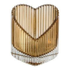 Castical-de-Vidro-82cm-Ambar-Lined-Heart