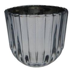 Castical-de-Metal-6cm-Cinza-e-Prata-Sprayed