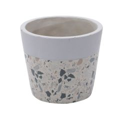 Vaso-de-Concreto-125cm-Cinza-e-Bege-Granilite-Stardust-