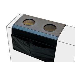 Esteira-Porta-Copos-e-Controle-para-Sofa-em-Corino-Preto