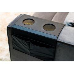 Esteira-Porta-Copos-e-Controle-para-Sofa-em-Corino-Preto-ambientada