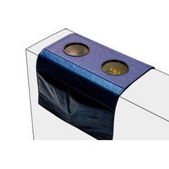 Esteira-Porta-Copos-e-Controle-para-Sofa-em-Corino-Azul