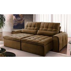 Sofa-Retratil-e-Reclinavel-3-Lugares-Marrom-210m-Bayonne---Ambiente