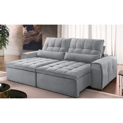 Sofa-Retratil-e-Reclinavel-3-Lugares-Cinza-210m-Bayonne---Ambiente