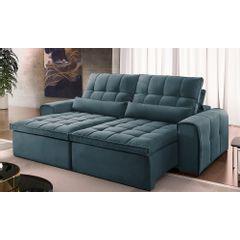 Sofa-Retratil-e-Reclinavel-4-Lugares-Azul-270m-Bayonne---Ambiente