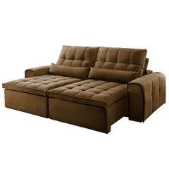 Sofa-Retratil-e-Reclinavel-4-Lugares-Marrom-270m-Bayonne
