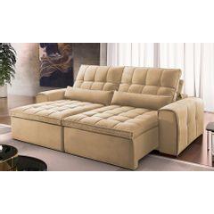 Sofa-Retratil-e-Reclinavel-4-Lugares-Bege-270m-Bayonne---Ambiente