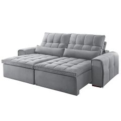 Sofa-Retratil-e-Reclinavel-4-Lugares-Cinza-270m-Bayonne