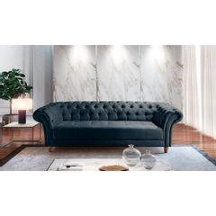 Sofa-3-Lugares-Azul-em-Veludo-244m-Zaha---Ambiente