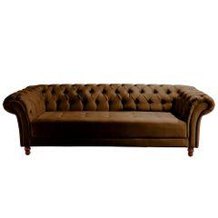 Sofa-3-Lugares-Marrom-em-Veludo-244m-Zaha