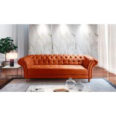 Sofa-3-Lugares-Ocre-em-Veludo-244m-Zaha---Ambiente