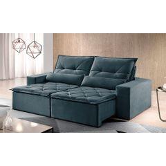 Sofa-Retratil-e-Reclinavel-4-Lugares-Azul-250m-Reidy---Ambiente