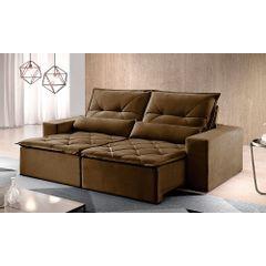 Sofa-Retratil-e-Reclinavel-4-Lugares-Marrom-250m-Reidy---Ambiente