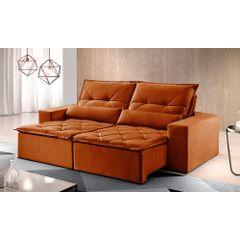 Sofa-Retratil-e-Reclinavel-4-Lugares-Ocre-250m-Reidy---Ambiente