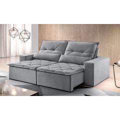Sofa-Retratil-e-Reclinavel-4-Lugares-Cinza-270m-Reidy---Ambiente