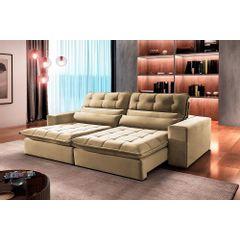 Sofa-Retratil-e-Reclinavel-3-Lugares-Bege-210m-Renzo---Ambiente