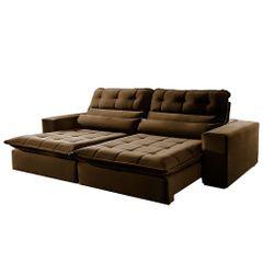 Sofa-Retratil-e-Reclinavel-3-Lugares-Marrom-230m-Renzo