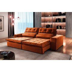 Sofa-Retratil-e-Reclinavel-4-Lugares-Ocre-290m-Renzo---Ambiente