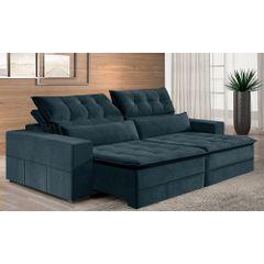 Sofa-Retratil-e-Reclinavel-4-Lugares-Azul-270m-Odile---Ambiente