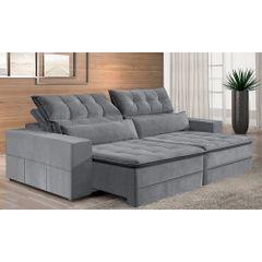 Sofa-Retratil-e-Reclinavel-4-Lugares-Cinza-290m-Odile---Ambiente