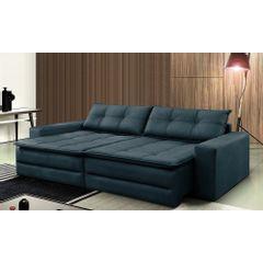 Sofa-Cama-Retratil-e-Reclinavel-4-Lugares-Azul-244m-Amale---Ambiente