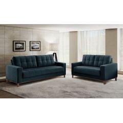 Sofa-2-Lugares-Azul-em-Veludo-157m-Lerner---Ambiente
