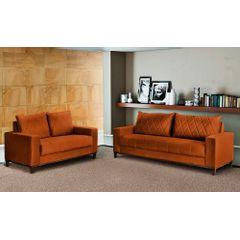 Sofa-2-Lugares-Ocre-em-Veludo-157m-Etel---Ambiente