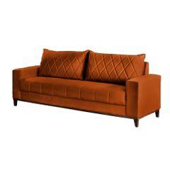 Sofa-3-Lugares-Ocre-em-Veludo-217m-Etel