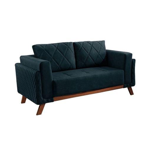 Sofa-2-Lugares-Azul-em-Veludo-157m-Eileen