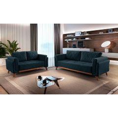 Sofa-2-Lugares-Azul-em-Veludo-157m-Eileen---Ambiente