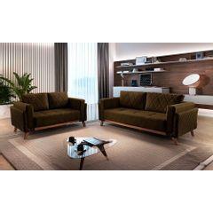 Sofa-2-Lugares-Marrom-em-Veludo-157m-Eileen---Ambiente