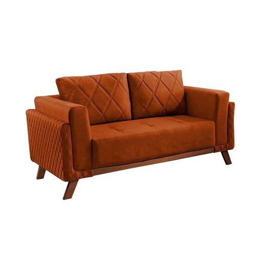 Sofa-2-Lugares-Ocre-em-Veludo-157m-Eileen
