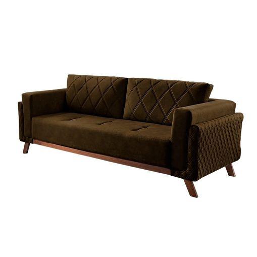 Sofa-3-Lugares-Marrom-em-Veludo-207m-Eileen