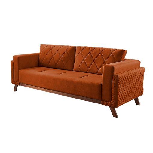 Sofa-3-Lugares-Ocre-em-Veludo-207m-Eileen