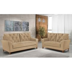 Sofa-2-Lugares-Bege-em-Veludo-154m-Deniot---Ambiente