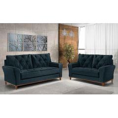Sofa-3-Lugares-Azul-em-Veludo-204m-Deniot---Ambiente