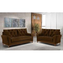 Sofa-3-Lugares-Marrom-em-Veludo-204m-Deniot---Ambiente