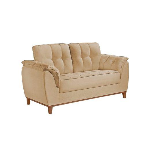 Sofa-2-Lugares-Bege-em-Veludo-157m-Boeri