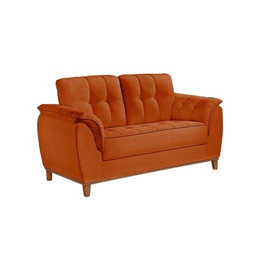 Sofa-2-Lugares-Ocre-em-Veludo-157m-Boeri