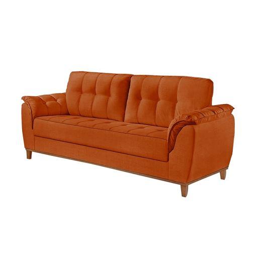 Sofa-3-Lugares-Ocre-em-Veludo-207m-Boeri