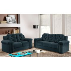 Sofa-2-Lugares-Azul-em-Veludo-162m-Pelli---Ambiente